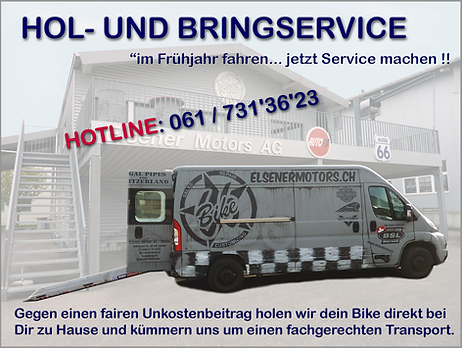 Hol-& Bring Service