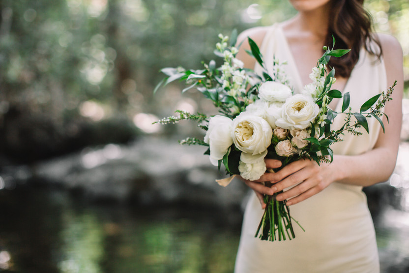 Alyssa - A Florist Wedding Inspired Bridal Portrait