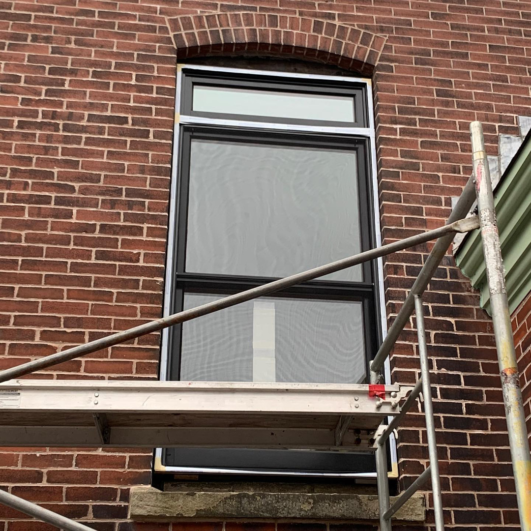 Heritage LePage wood window installation