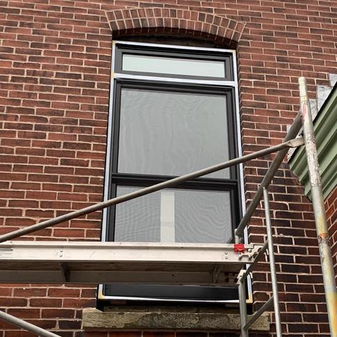 Heritage LePage wood window installation