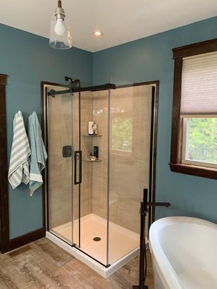 Full bathroom transformation