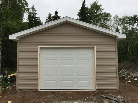 16x42 single car garage/shop