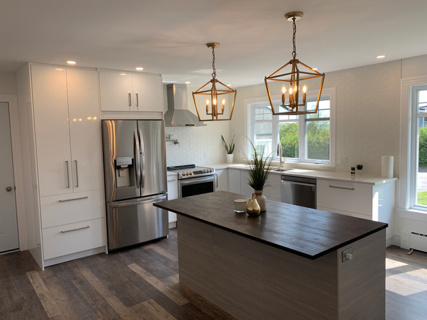 Took this kitchen from enclosed to open and bright.