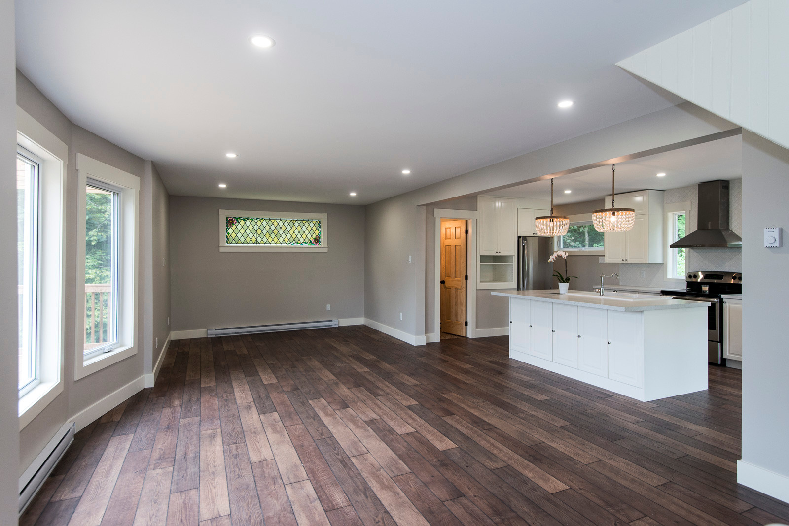 Full open concept renovation done in this 100 year old home.