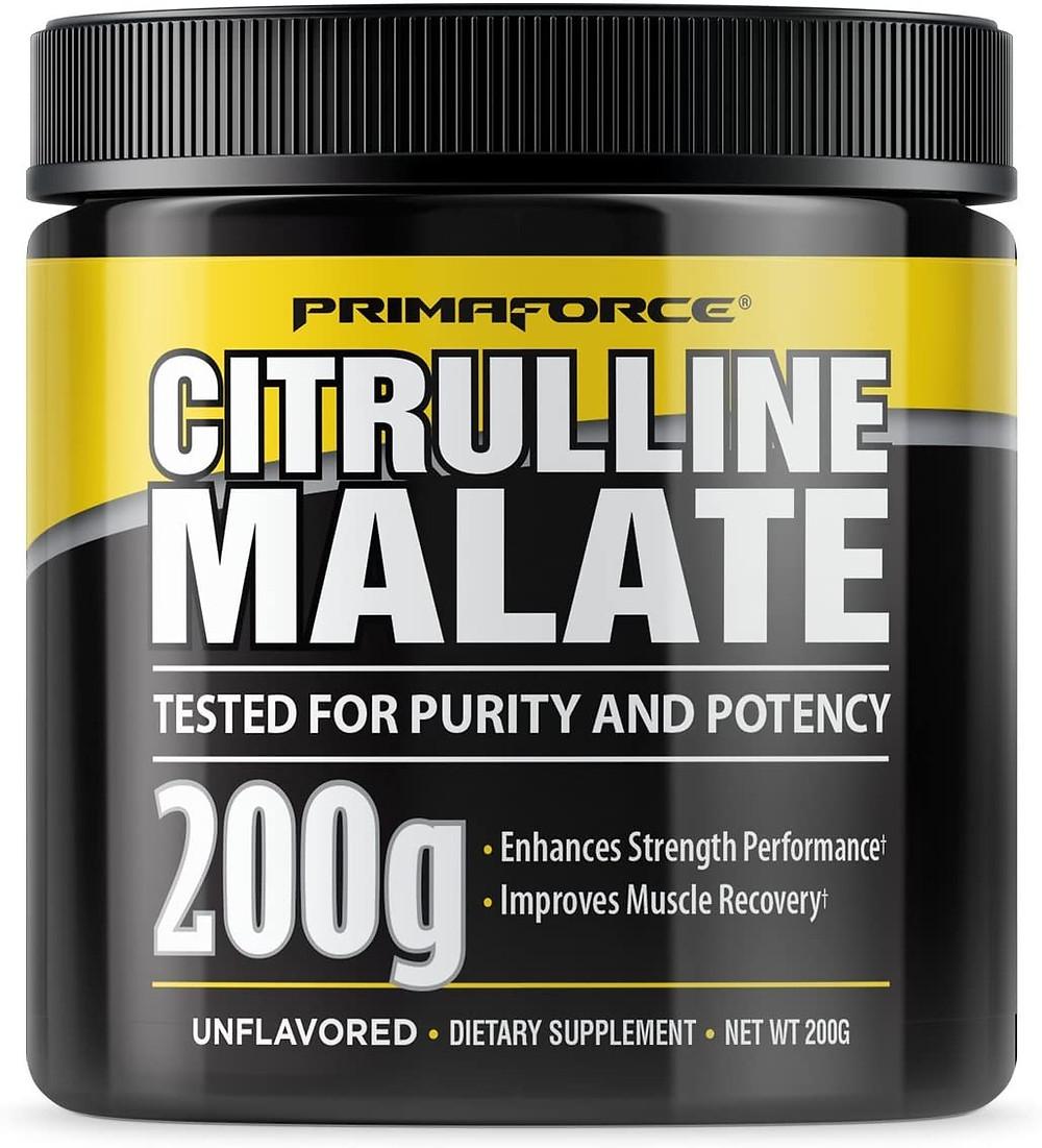PrimaForce Citrulline Malate Powder Supplement