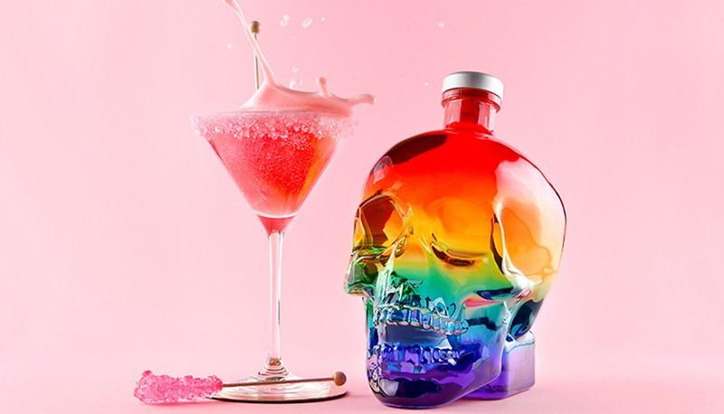 Crystal Head Vodka 'Sugar Daddy' cocktail