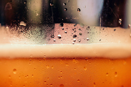 Beer up close