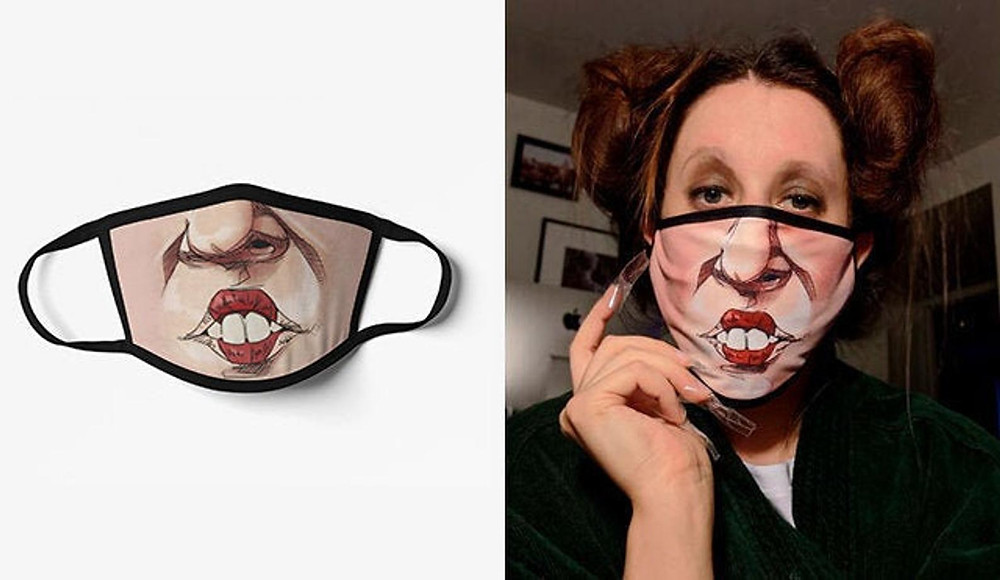 Winifred Sanders Face Mask