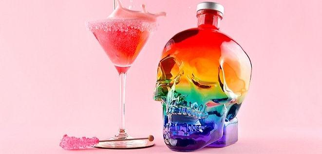 Crystal Head Vodka, Pride Edition, 'Sugar Daddy' Cocktail