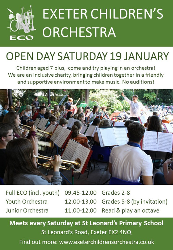 Open Day 19th January 2019