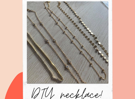 DIY necklace under 10k