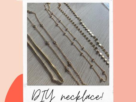 DIY necklace under 10k