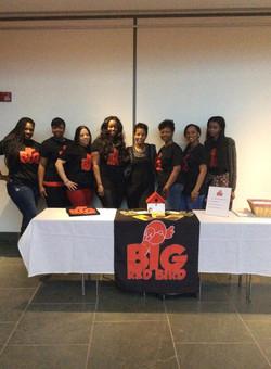 A part of the Big Red Bird Team