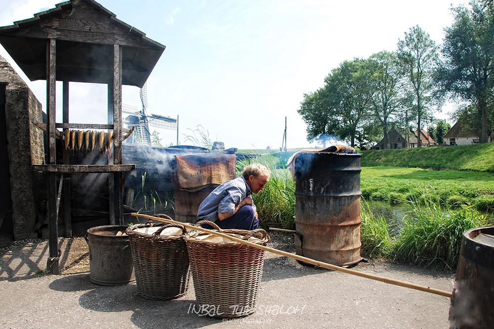 מעשן צלופחים Zuiderzeemuseum