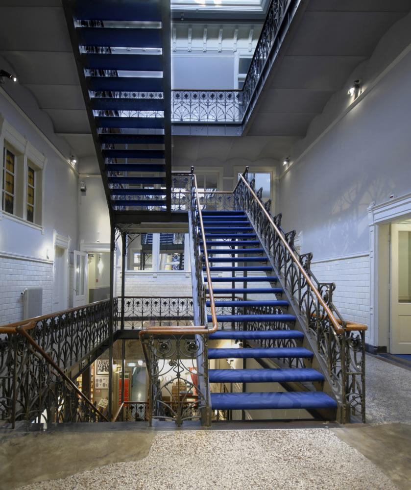 Hotel New York Rotterdam Staircase