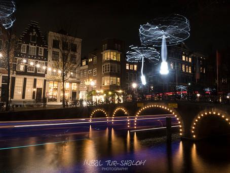 זום על פסטיבל האורות באמסטרדם – טיפים לצילום נוף עירוני בלילה