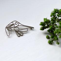 """Silver brooch """"Humming Bird"""""""
