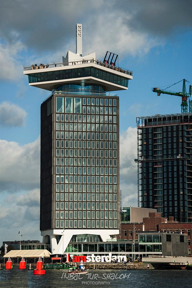 מגדל אמסטרדם לוקאאוט והנדנדה באמסטרדם Amsterdam Lookout