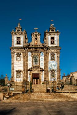 Igreja de Santo Ildefonso, Porto, Portugal