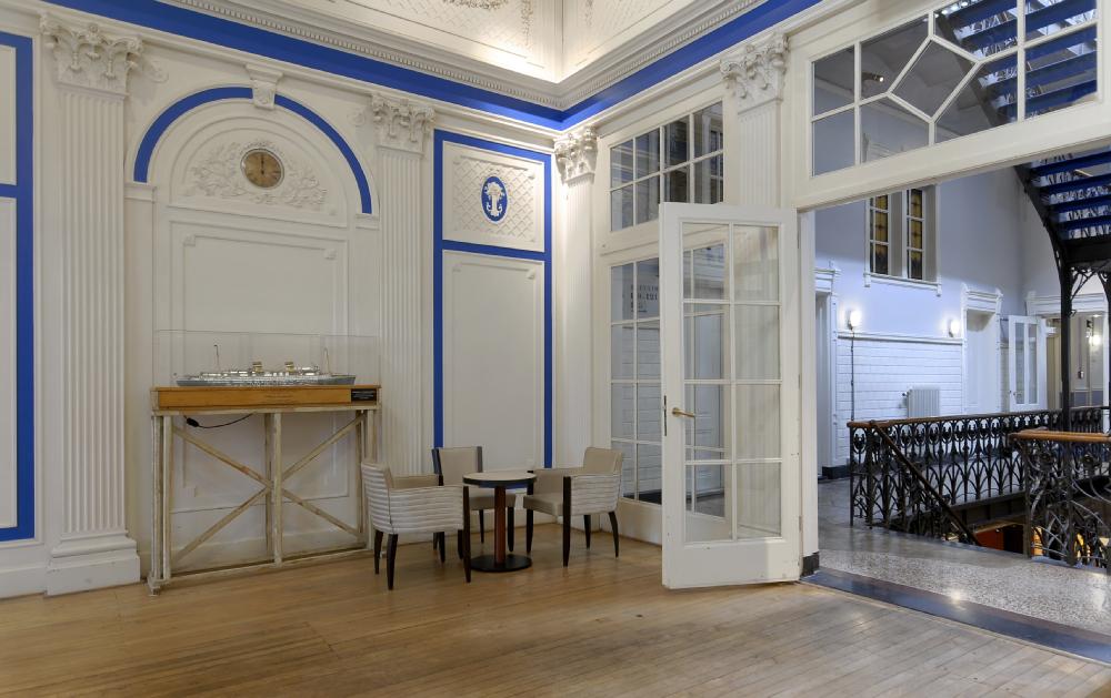 Hotel New York Rotterdam Upstairs Hallway