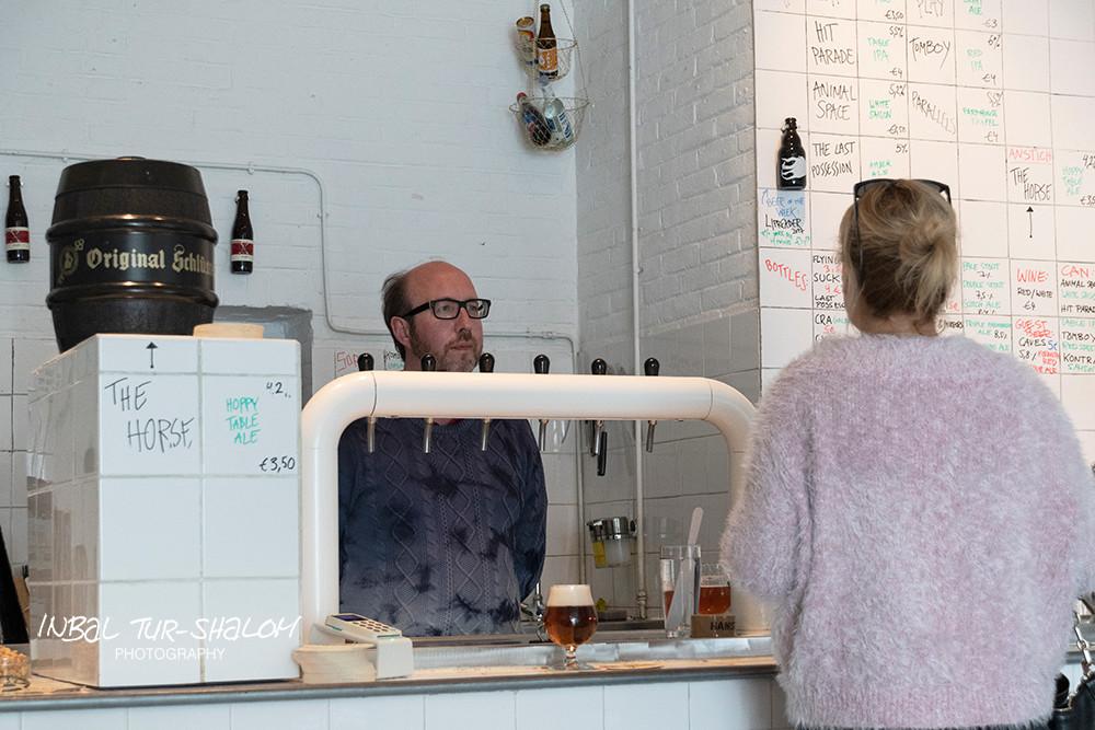 הבר של מבשלת הבירה בוטצ'רס טירס