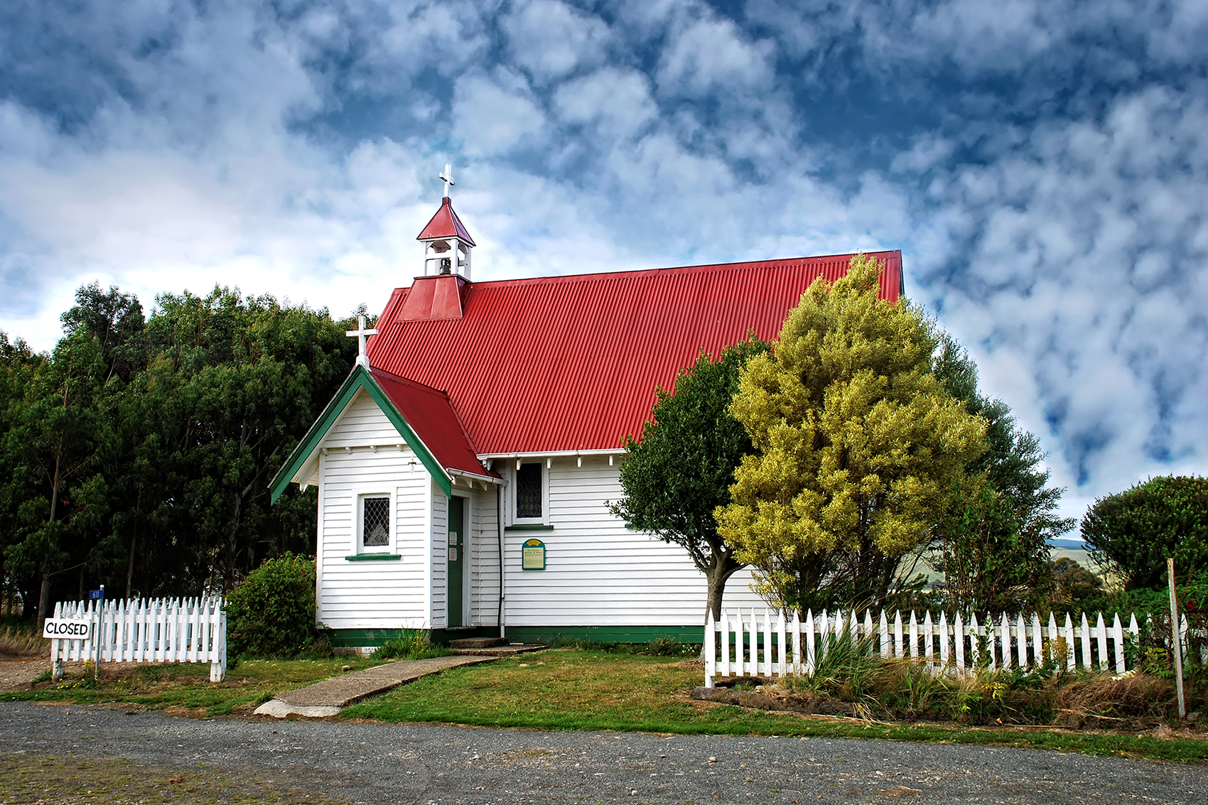 Church, Catlins New Zealand