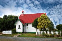Church, Catlins New Zealand