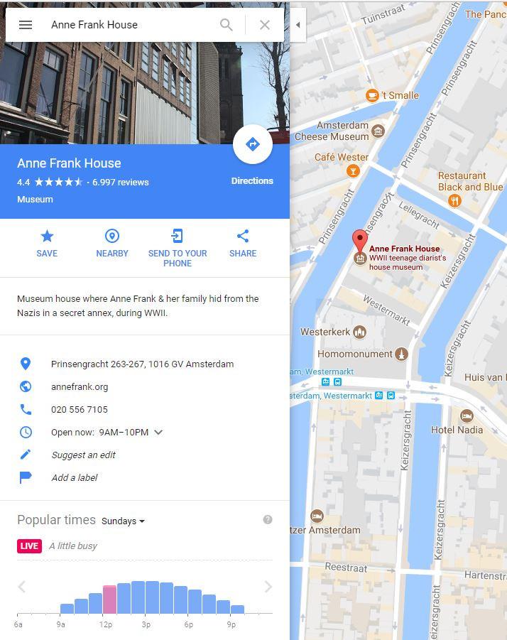 Google maps print screen