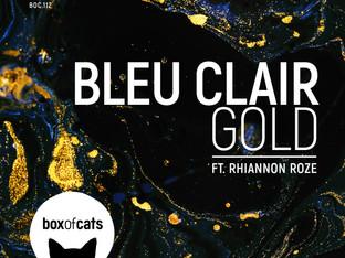 Gold with Bleu Clair