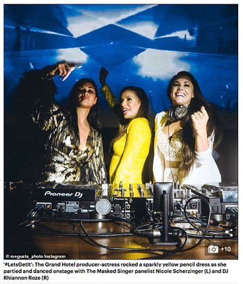 NYE with Eva Longoria & Nicole Scherzinger
