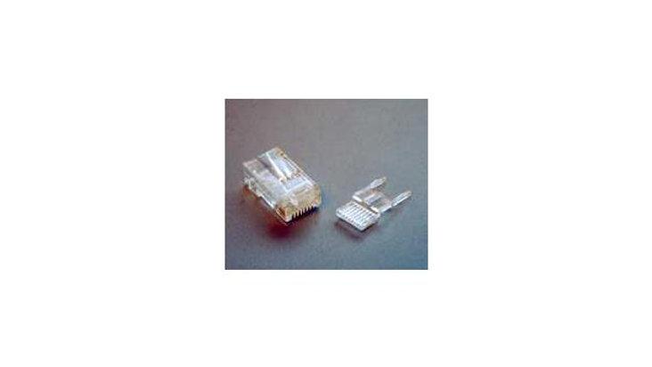 RJ45 UTP plugg for Cat. 6, 100 stk