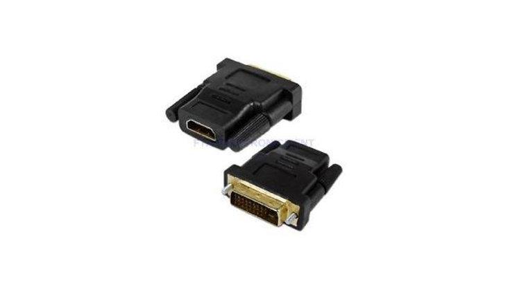 LinkIT DVI-D adapter, DVI han - HDMI hun