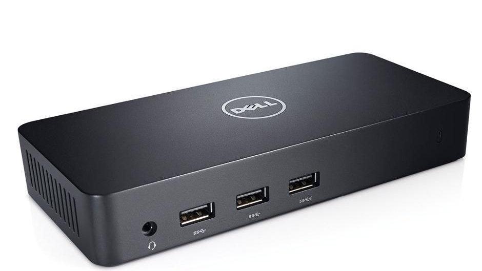 Dell USB 3.0 Ultra HD Triple Video Docking Station D3100 EU