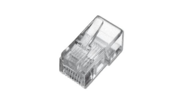 RJ45 UTP plugg for Cat. 5e, Pose 100 stk