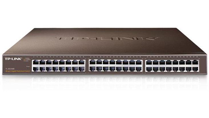 TP-LINK SG1048 Switch, 48xGigabit, rackm