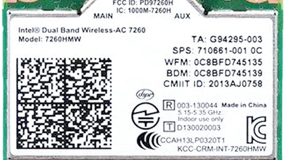 Wireless Network Card Intel AC 7260