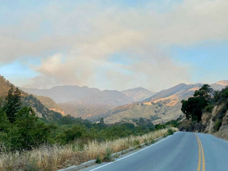 How fires are affecting air quality