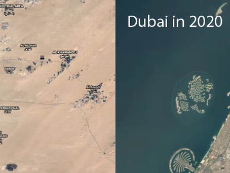 Now Google Earth can show us how much the planet has changed in the last 37 years