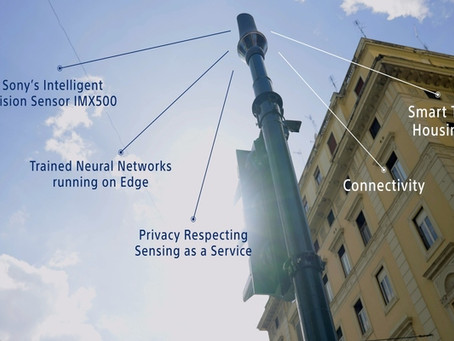 Smart Cities: intelligence vision sensors, key technology to improve traffic and pedestrian safety