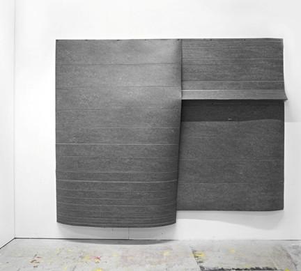 Falte 2, Linoleum, 2018
