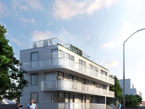 BUDYNEK WIELORODZINNY - nowoczesny apartementowiec