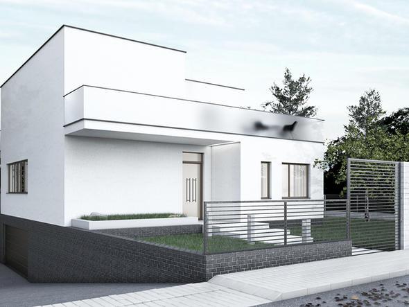 DOM JEDNORODZINNY - willa w modernistycznym kontekście