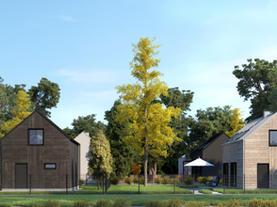 DOM LETNISKOWY - cztery indywidualne domy rekreacyjne