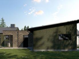 DOM JEDNORODZINNY - ranczerski dom w otulinie Kozłowieckiego Parku Krajobrazowego