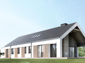 DOM JEDNORODZINNY - nowoczesny dom jednorodzinny