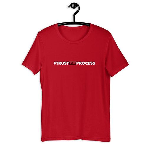 #TrustTheProcess Red T-Shirt