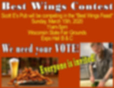 wings,contest,chicken,wisconsin,state,fair,best,wings,milwaukee,scott,es,scottes,pub,west,allis,grounds