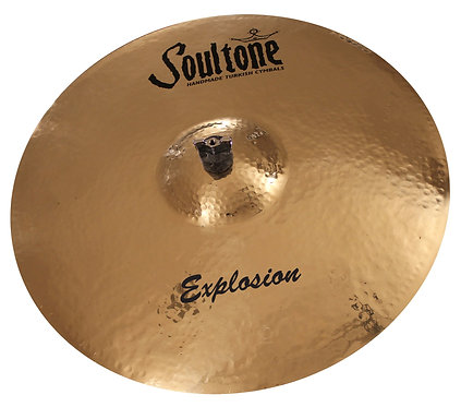 "Soultone Explosion Ride Cymbal -20"" Top View"