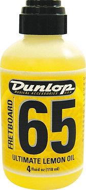 Dunlop 65 Fretboard Ultimate Lemon Oil-Front Bottle View