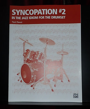 Syncopation No. 2: In the Jazz Idiom for the Drum Set -Book Cover
